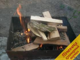 Кебаб из телятины в сальнике, пошаговый рецепт с фото