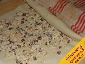 Штрудель с творогом и вишней, пошаговый рецепт с фото